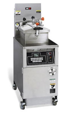 BKI LGF-FC(LP) Large Volume Pressure Fryer w/ Quick Disconnect Filter, Computer Control, LP