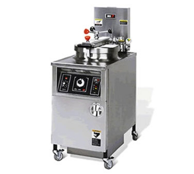 BKI LPF 2403 Extra Large Volume Pressure Fryer w/ Manual Control, 48-lb Oil Capacity, 240/3 V