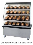 BKI MDW-36-5CFM 240 36-in Hot Food Self Service Case w/ 5-Shelves & 28-Domes, Floor Model, 240/1 V