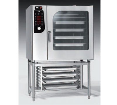 BKI ME102 Boiler Steam Combination Oven w/ (20) 12 x 20-in Pan, Digital Control, 208/3 V