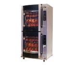BKI VGG-16-F 2203 2-Deck Rotisserie Oven w/ (80) 3-lb Chicken Capacity, Flat Glass, 220/3 V
