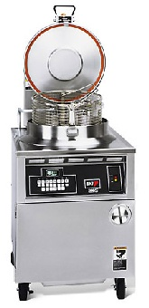 BKI FKMF Electric Pressure Fryer, 75 lb Capacity, Quick Disconnect Filtration