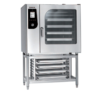 BKI HE102 Single Full-Size Combi-Oven, Boiler Based, 208v/3ph