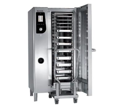 BKI HE201 Single Half-Size Combi-Oven, Boiler Based, 208v/3ph