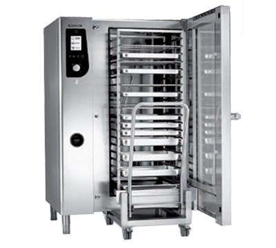 BKI HE202 Single Full-Size Combi-Oven, Boiler Based, 208v/3ph