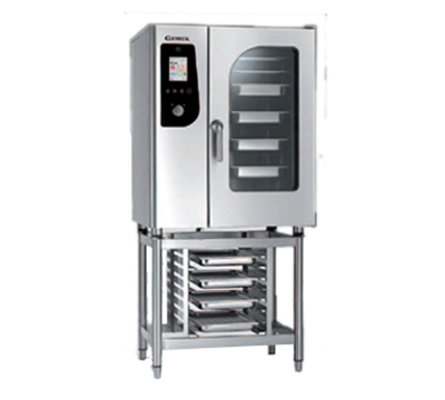 BKI HG101 NG Single Half-Size Combi-Oven, Boiler Based, NG
