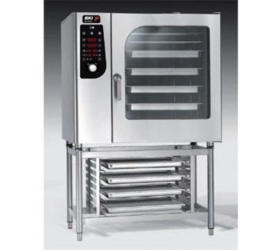BKI ME102 Single Full-Size Combi-Oven, Boiler Based, 208v/3ph