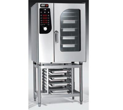 BKI MG101 LP Single Half-Size Combi-Oven, Boiler Based, LP