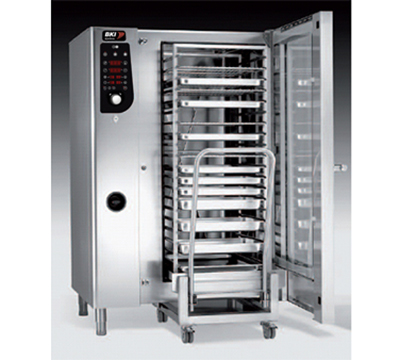 BKI PG202 LP Single Full-Size Combi-Oven, Boilerless, LP
