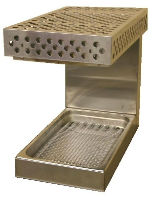 BKI WS-13 Countertop Fried Food Warmer w/ Radiant Heat, Holds 12 x 20-in Pan, 120 V