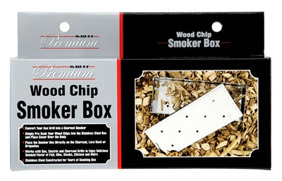 Chef Master / Mr. Bar B Q 02109P Smoker Box with Lid, Sta