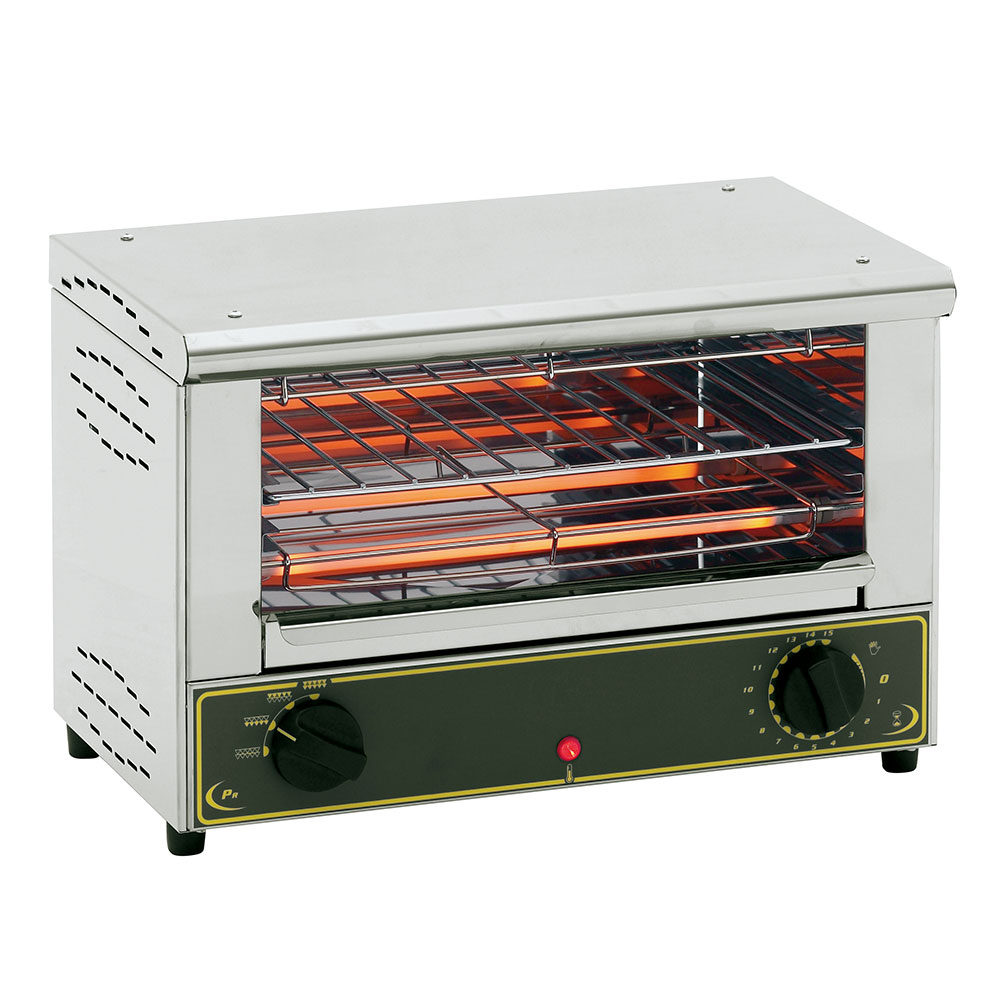 Equipex BAR1001 Melt N Toast Toaster Oven, Single Shelf, 12-1/2 in. H, 120 V