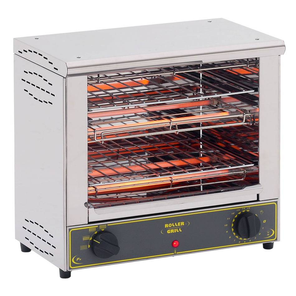 Equipex BAR2001 Sodir Toaster Oven, Double Shelf, 17in H, 120 V