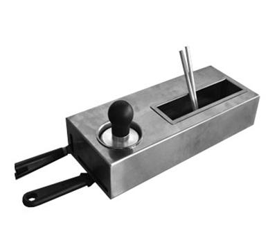 Equipex CK-3 Freestanding Crepe Kit w/ Water Vat & Batter Spreader, Stainless Casing