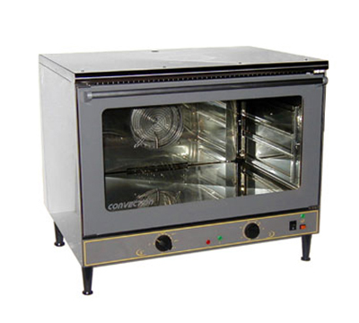 Equipex FC-103G Countertop Single Deck Convection Oven, 4-Full Sheet Pans, 208/240/3V