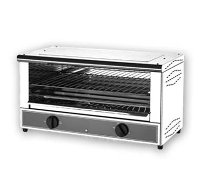 Equipex TS-127 Open Style Single Shelf Toaster Oven, 24.5 x 13 x 13-in, 208/240v