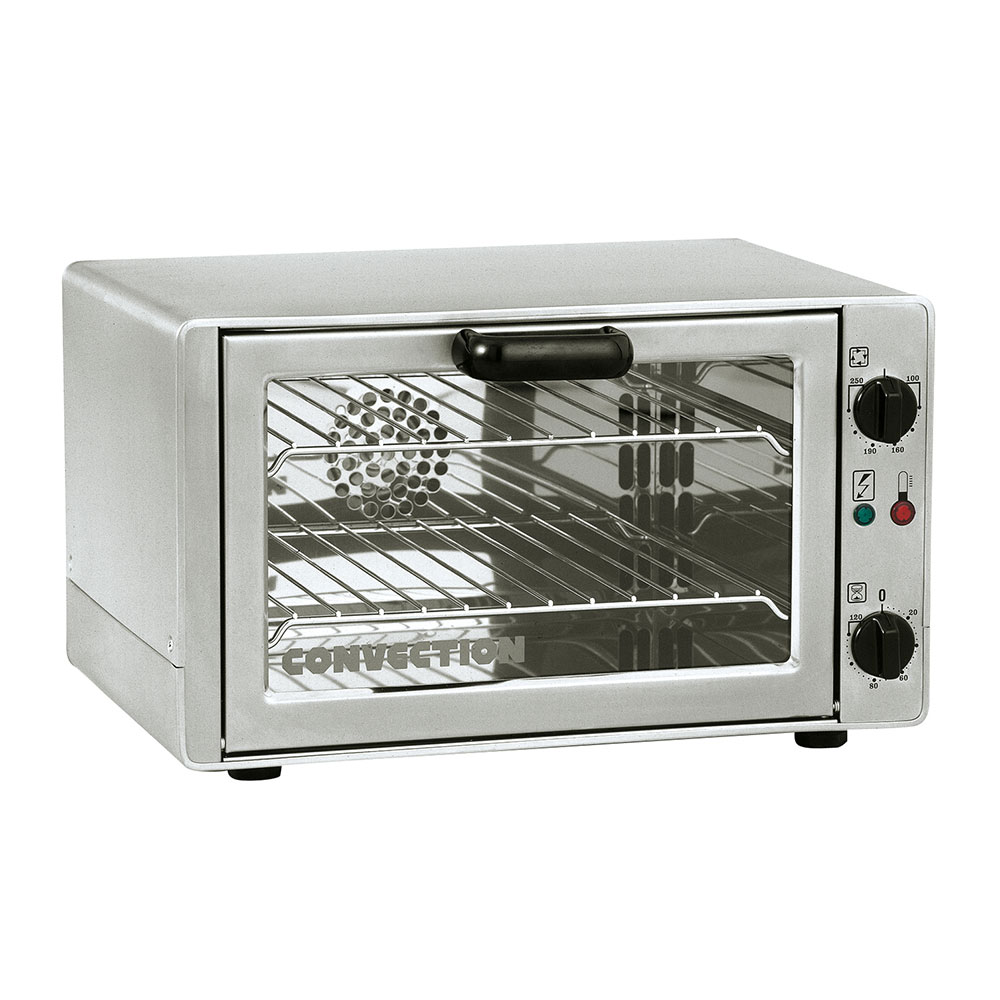 Equipex FC261 Quarter-Size Countertop Convection Oven, 120v/1ph