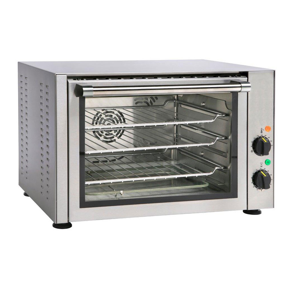 Equipex FC34 Half-Size Countertop Convection Oven, 208-240v/1ph
