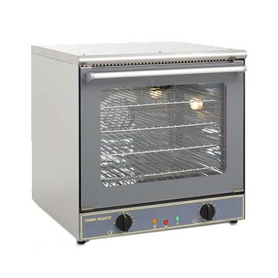 Equipex FC60 Single Deck Countertop Convection Oven - Half Size, Thermostatic, Stainless, 208/240v