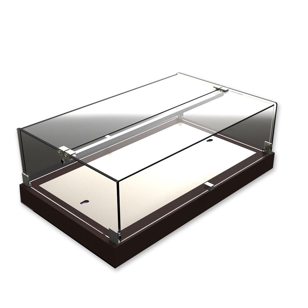 Equipex TE58C Plexiglass Dual Service Display w/ Eutectic Chill, 23-