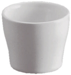 Revol 617542 2-in Porcelain Egg Cup, Dishwasher Safe, White