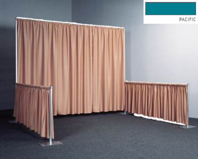 Snap Drape RPBDSEQ60119 PAC 119-in Sequel Backdrop w/ 4.5-in Top Rod Pockets, Pacific