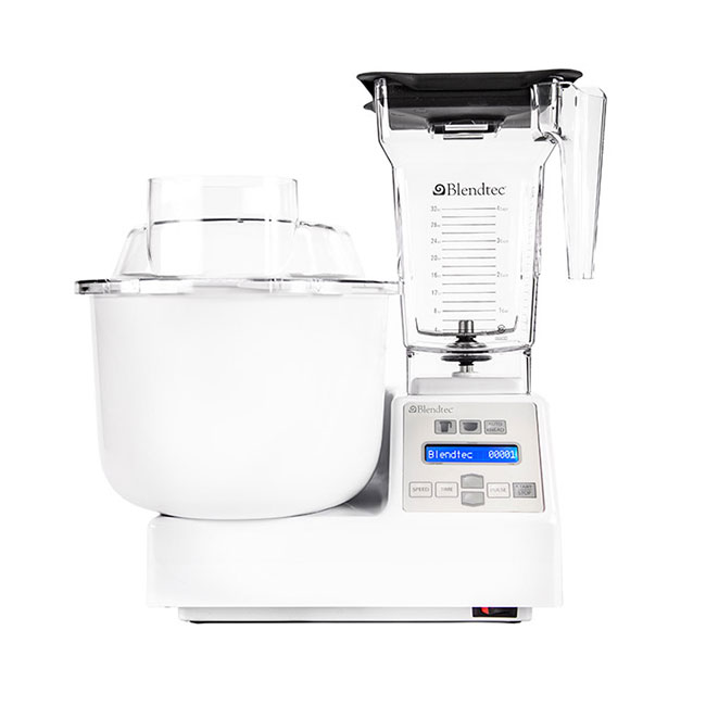 Blendtec Residential 65601BHM Mixer Blender Combo w/ 4-Side Pitcher, Mixing Bowl & Accessories