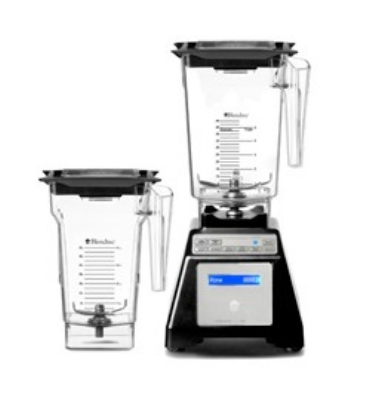 Blendtec Residential HPA62126 WildSide Combo Blender w/Wildside & FourSide Jar, Black