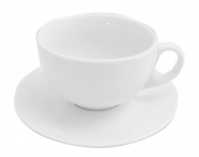 Mayfair 120 7-oz Porcelain Cappuccino Cup, White
