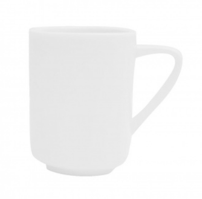 Mayfair 139 11-oz Porcelain Trio Mug, White