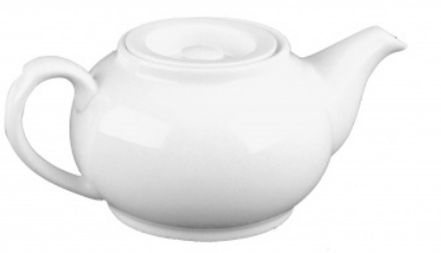 Mayfair 249 15-oz Classic Porcelain Tea Pot, White