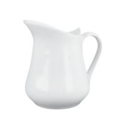 Mayfair 261 4-oz Porcelain Cream Jug, White
