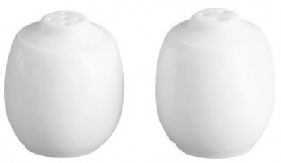 Mayfair 263XD 2.6-in Porcelain PA Salt & Pepper Shaker, White