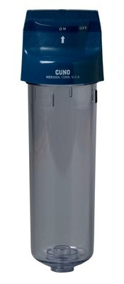 3M Water Filtration 5557506 Single Pre Filter Water Filter Cartridge, Valve