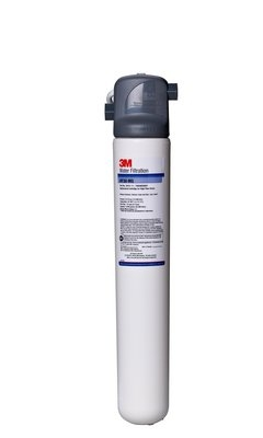 3M Water Filtration 5616103 BREW130 Valve In Head Reduction Filter System, 0.5 Micron