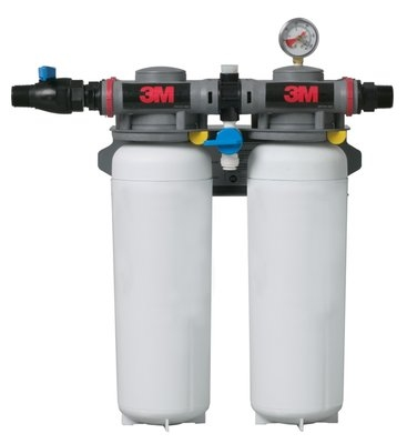 3M Water Filtration 5624504 ICE260-S Filter System w/ Shut Off Valve, 3 Microns