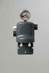 3M Water Filtration 6213001 3/8-in FNPT High Flow Valve In Head w/ Shroud & Gauge