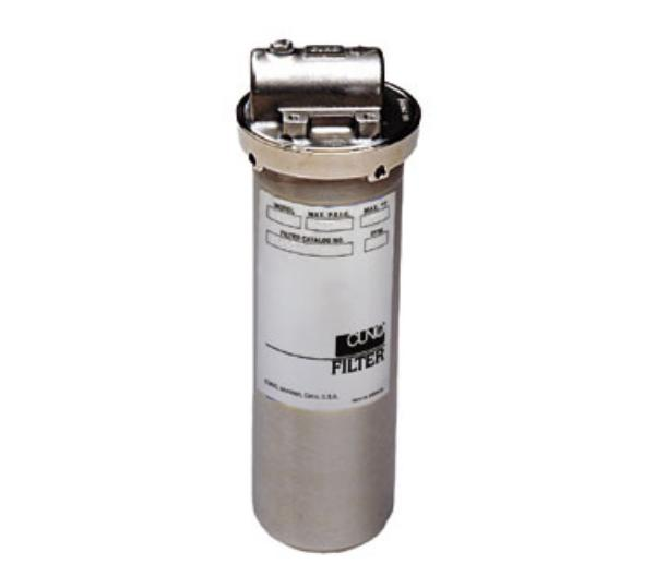 3M Water Filtration CFS1610SS SS Series In-Line Water Filtration System, 3/4 in NPT, Booster Heater