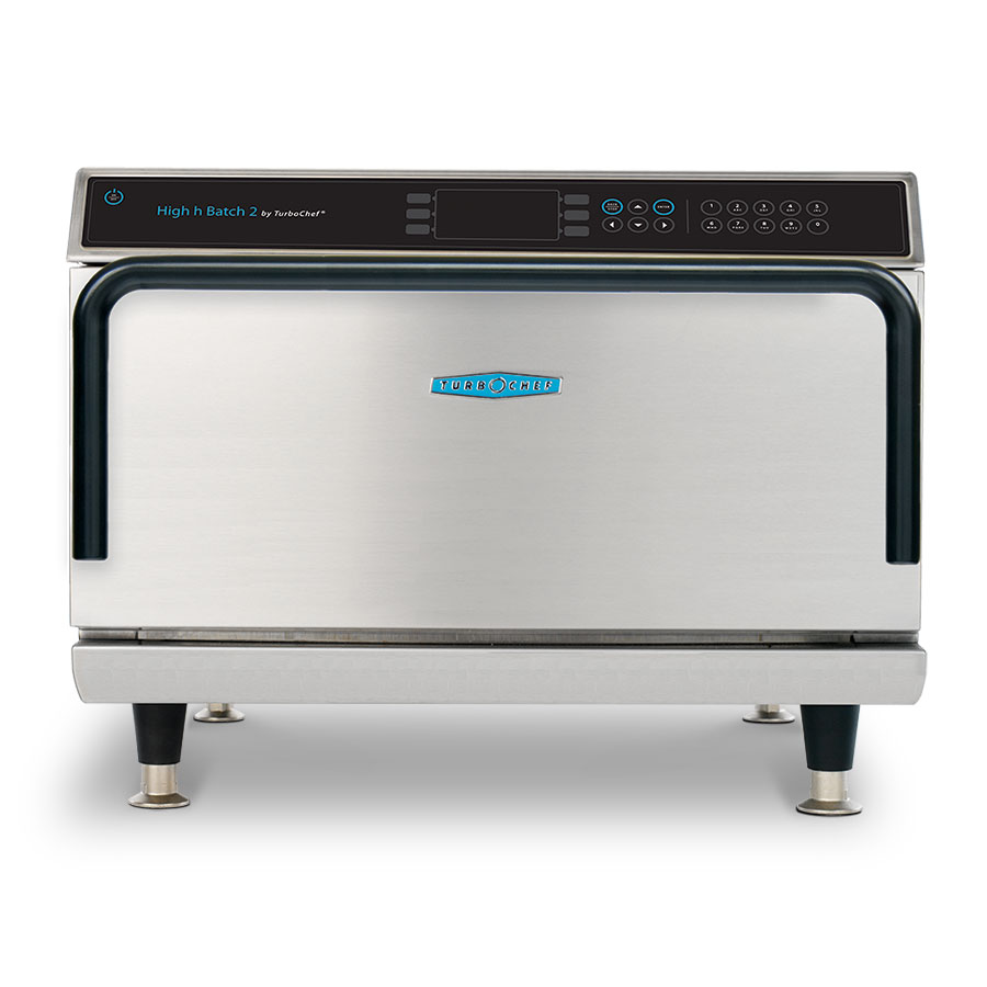 Turbo Chef HIGH H BATCH 2 Speed Cook Convection Oven, Ventless, Store 72 Recipes, 208/240 V
