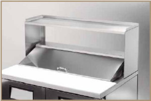 True 915702 Single Utility Shelf, 60-1/4 in x 16 in x 20-1/32 in H, for TPP60 & TPP60D2
