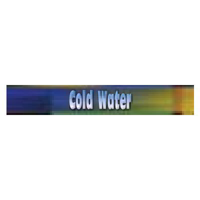 True 884069 Sign, Cold Water, Blue & Green, for GDM33C & GDM33CPT