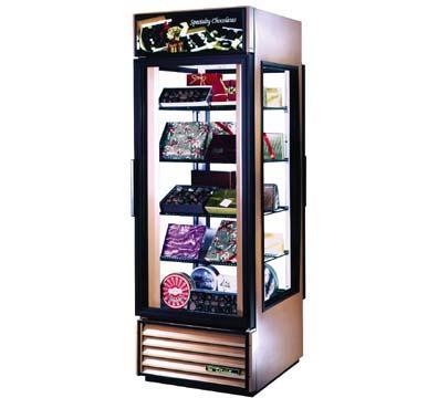 True G4SM-23RL Rear Load Specialty Merchandiser Front Sign Restaurant Supply