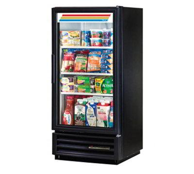 "True GDM-10-LD 25"" One-Section Refrigerated Display w/ Swing Door, Bottom Mount Compressor, 115v"