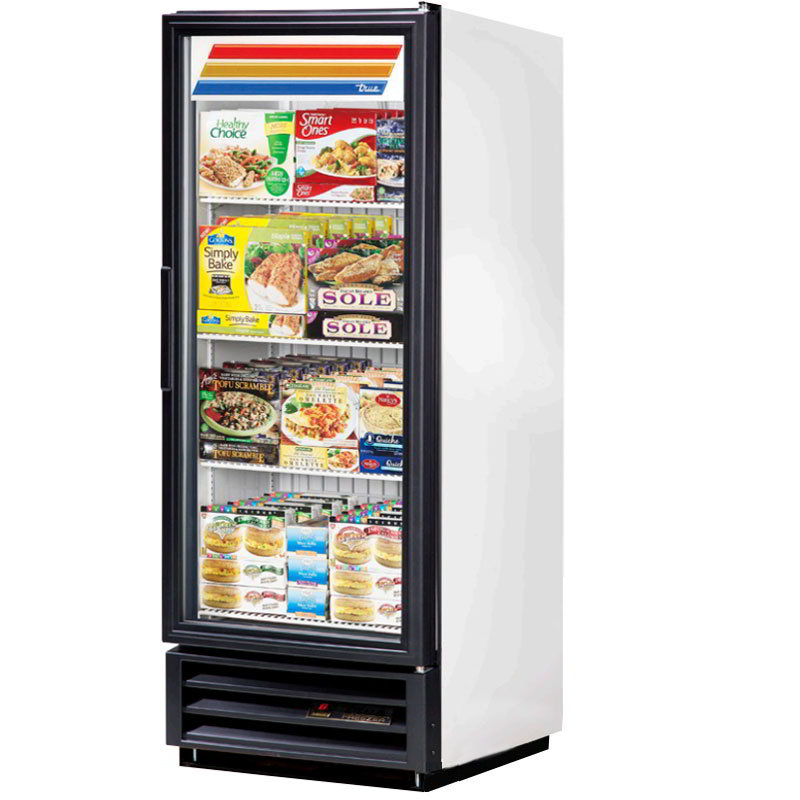 "True GDM-12F-LD 25"" Freezer Merchandiser - 1-Do"