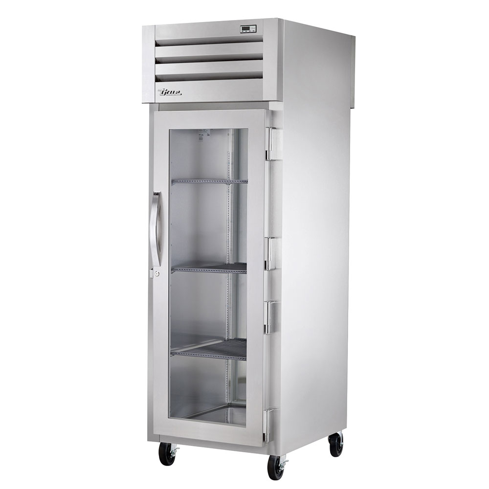 "True STA1F-1G 27.5"" Single Section Reach-In Freezer, (1) Glass Door, 115v"