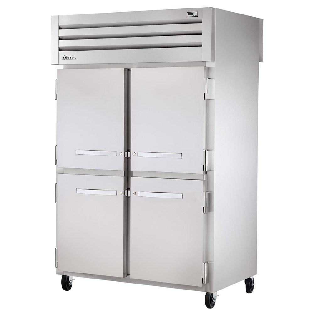 "True STR2F-4HS 52.63"" Two Section Reach-In Freezer, (4) Solid Door, 115v"