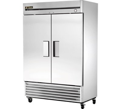 True T49RHRH 54.13-in Reach-In Refrigerator w/ 6-Shelves, Stainless Doors & Front