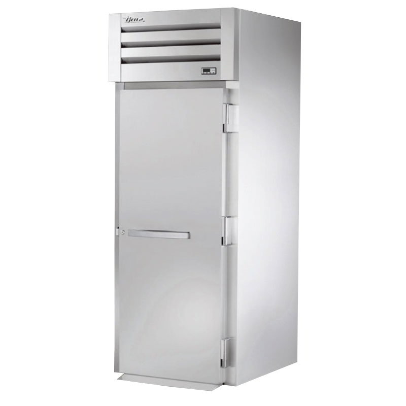 "True STA1HRI-1S 35"" Roll-In Heated Cabinet - 1-Solid Door, Stainless Exterior"
