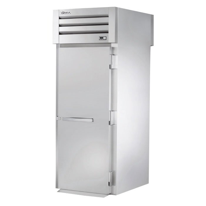 "True STA1HRT-1S-1S 35"" Roll-Thru Heated Cabinet - 1-Section, 2-Solid Full Doors 115/208-230v"