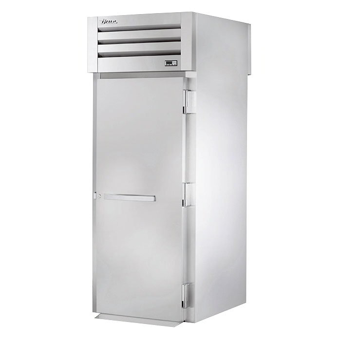 "True STA1HRT89-1S-1S 35"" Roll-Thru Heated Cabinet - 1-Section, 2-Solid Full Doors 115/208-230v"